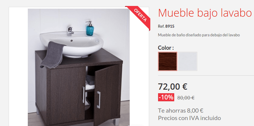 Topkit saca nuevas ofertas topkit for Oferta lavabos