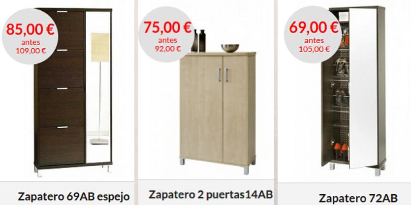 Zapateros en oferta en topkit topkit for Ofertas de zapateros