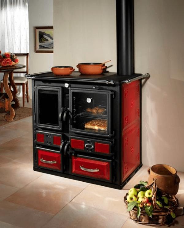 Muebles y equipamiento para el hogar calderas de pellets for Estufa pellets con horno