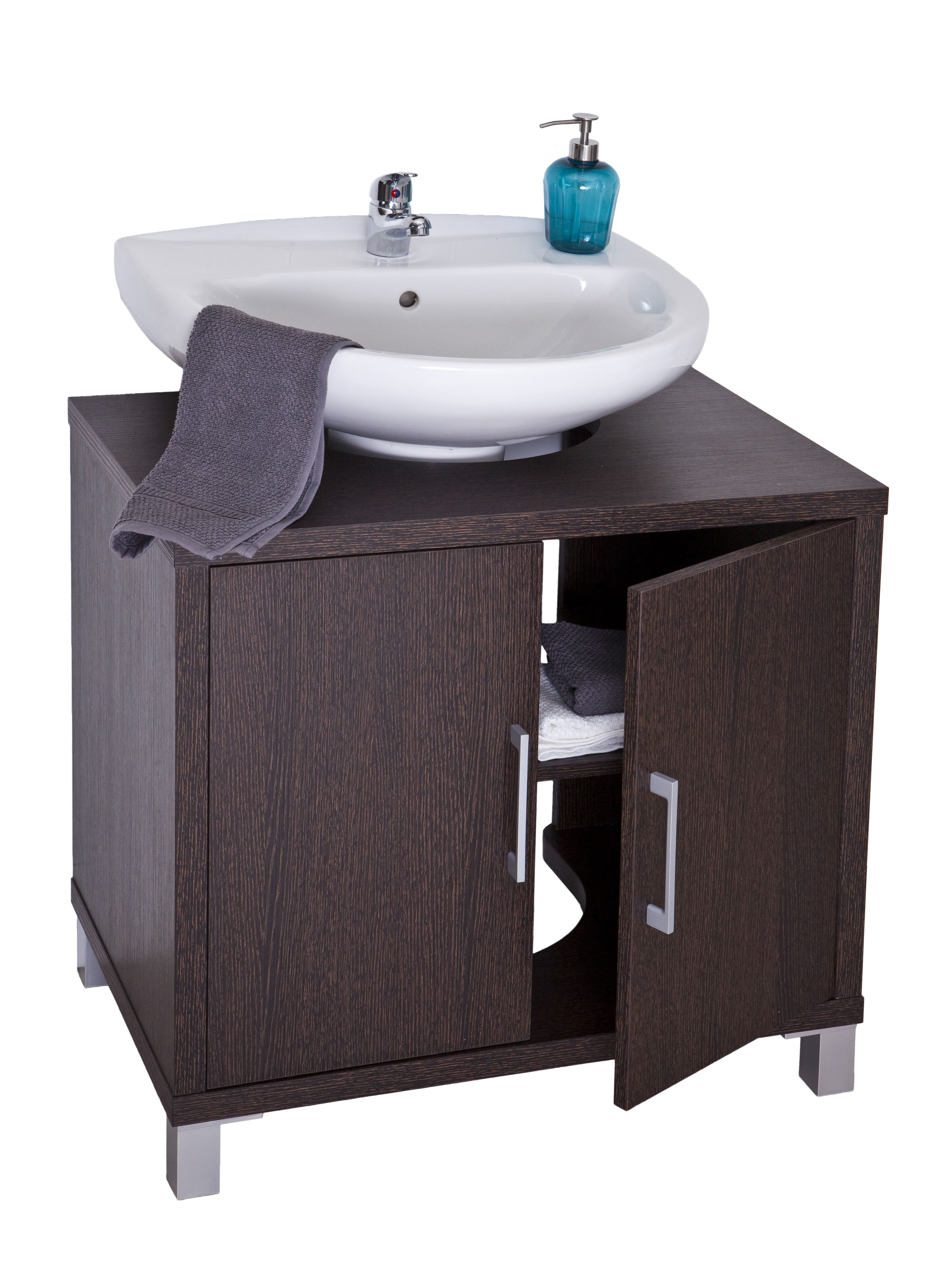 Mueble con lavabo dise os arquitect nicos for Mueble lavabo pie