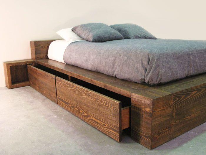 Materiales en la fabricaci n de muebles topkit for Camas con almacenaje