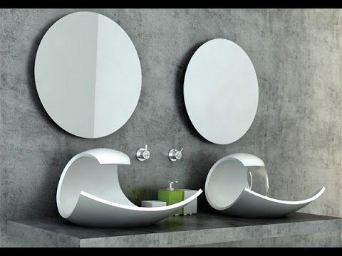 lavabos modernos baño