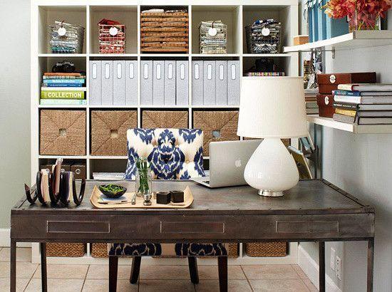 C mo organizar con estilo tu oficina en casa topkit for Outlet muebles de oficina