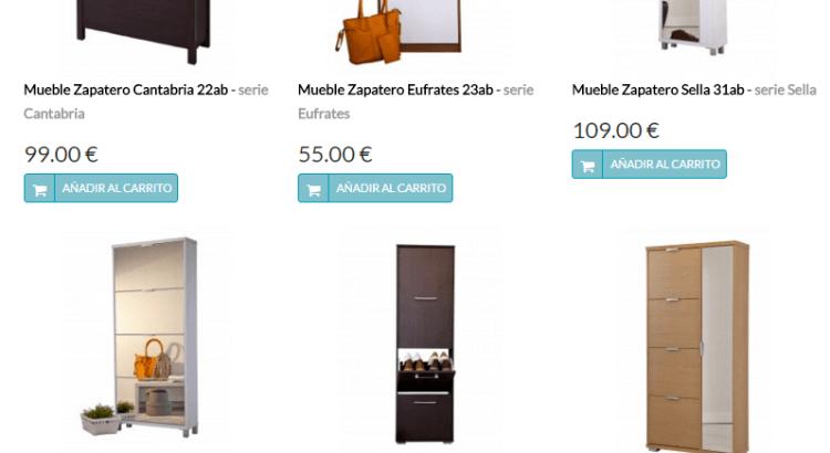 comprar zapateros online