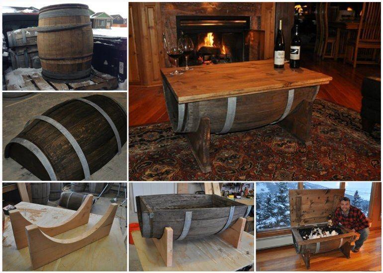 Fabricar muebles con barriles en casa topkit - Fabricar muebles ...